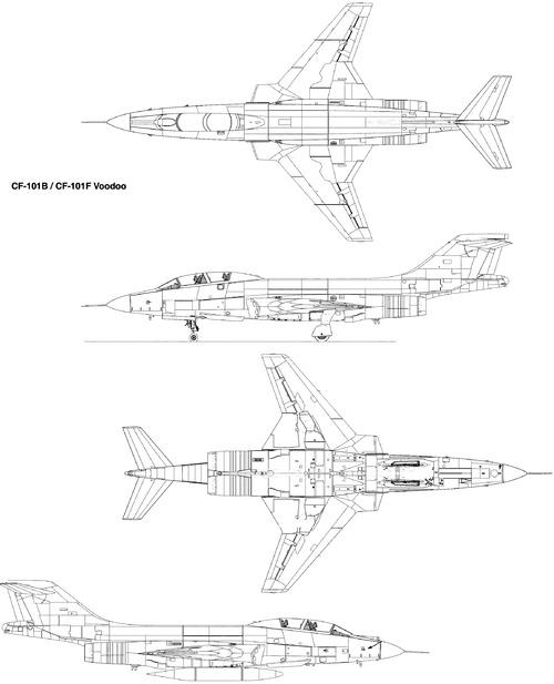 Canadair CF-101 Voodoo