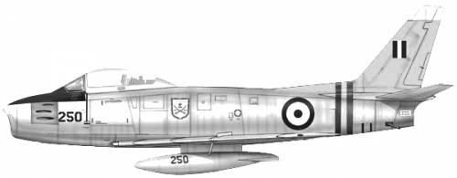 Canadair CL-13 Mk II Sabre