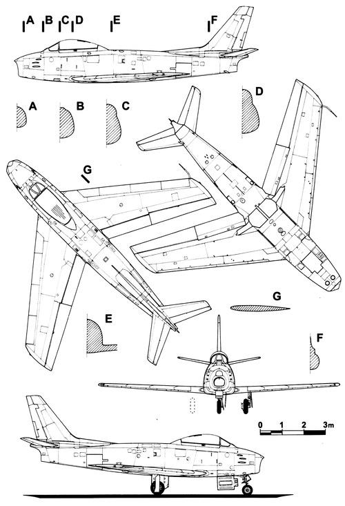 Canadair CL-13 Sabre