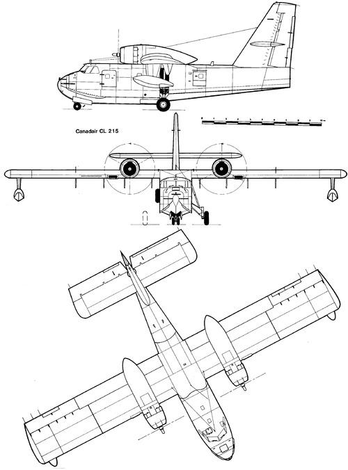 Canadair CL-215 Scooper