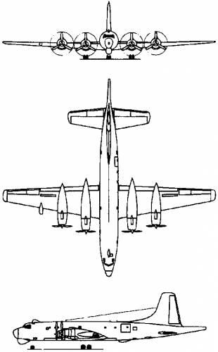 Canadair CL-28 Argus (Canada) (1957)