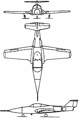 Canadair CL-41 Tutor (Canada) (1960)