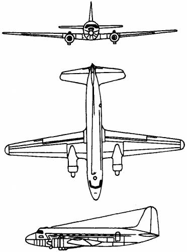 CASA C-207 Azor (Spain) (1955)