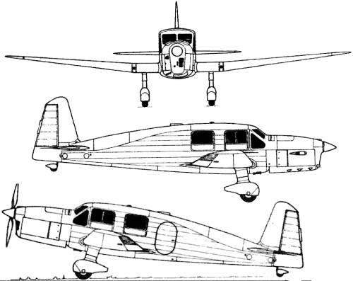 Caudron C-635 Simoun