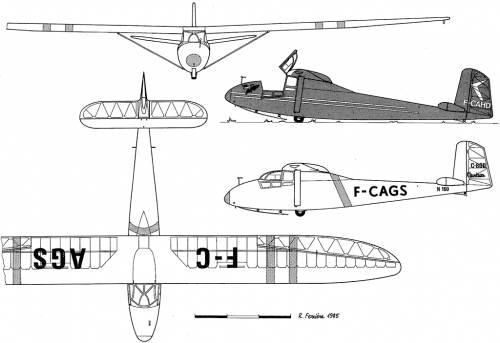 Caudron C-800 Epervier
