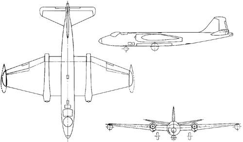 English Electric Canberra B.Mk.II