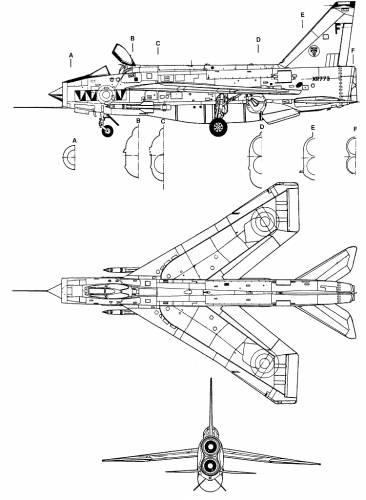 English Electric F-6 Lightning