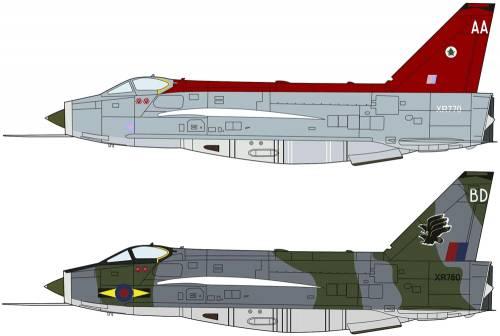 English Electric Lightning F Mk.6