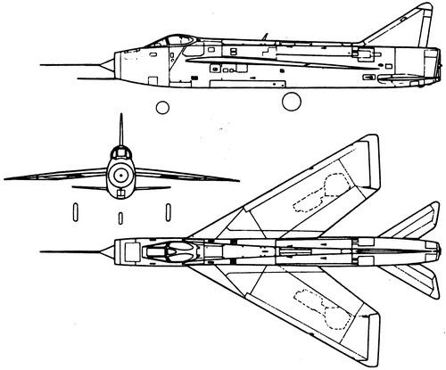 English Electric Lightning P.1B