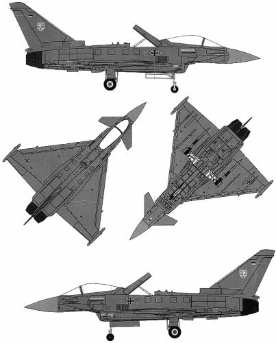 Euro Fighter EF-2000A Typhoon