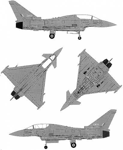 Euro Fighter EF-2000B Typhoon
