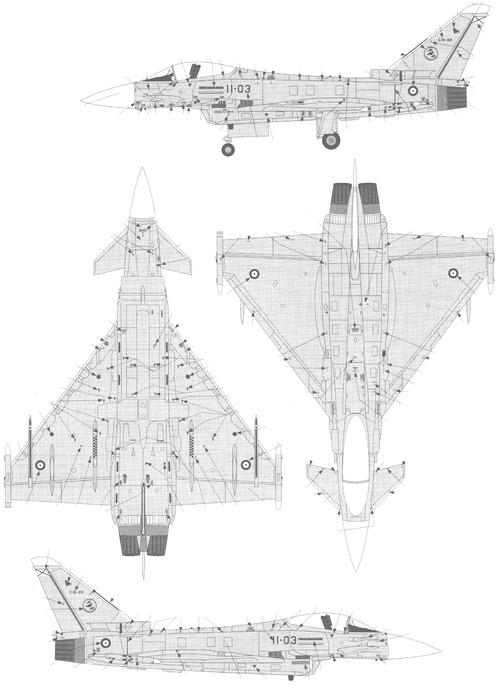 Eurofighter Typhoon F2 Single Seat