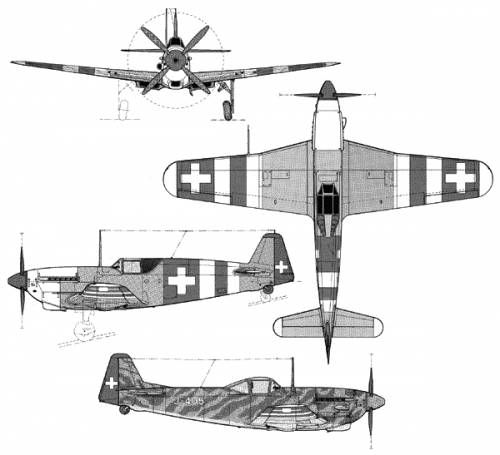 FA D-3801 - 3802 - The Swiss Mustang