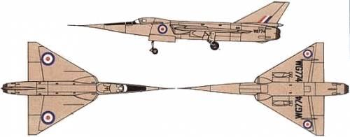 Fairey Delta F.D.2