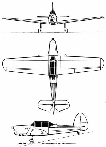 Farman F-521 Monitor