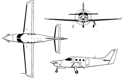 Farnborough JP100 Kestrel
