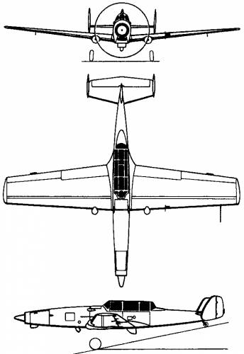 Federal Aircraft Factory C-3605 Schlepp (Switzerland) (1968)