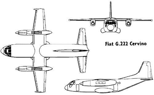 Fiat G.222 Cervino