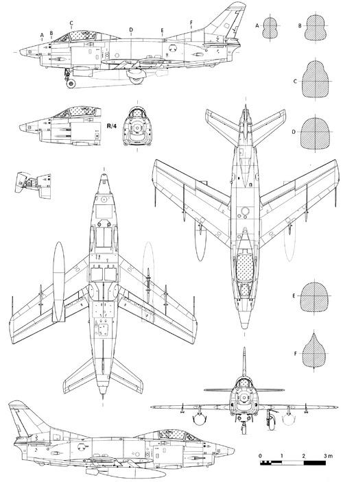 Fiat G.91R-3 Gina