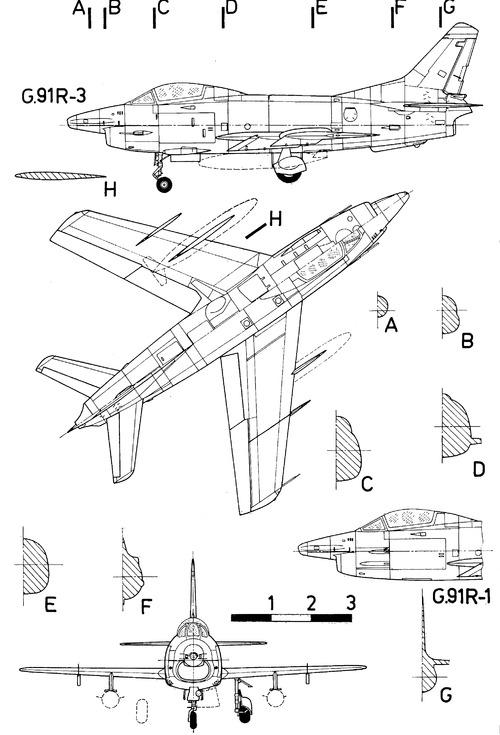 Fiat G.91R Gina