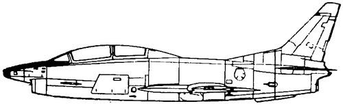 Fiat G.91T-3 Gina