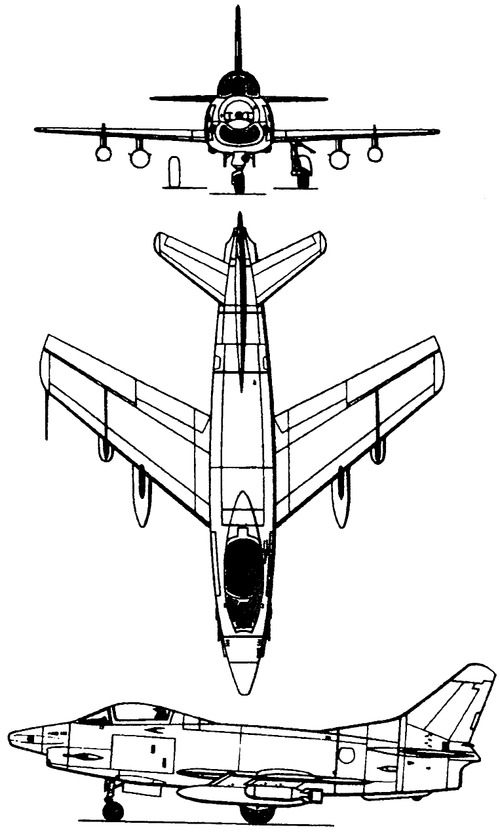 Fiat G.91Y Gina