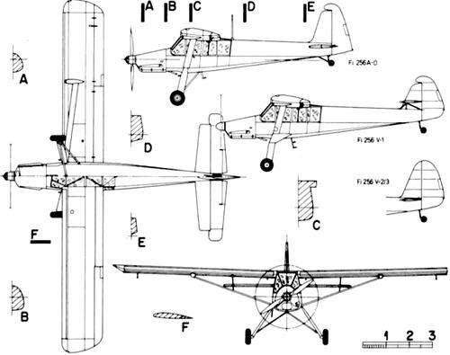 Fieseler Fi 256 Super-Storch.
