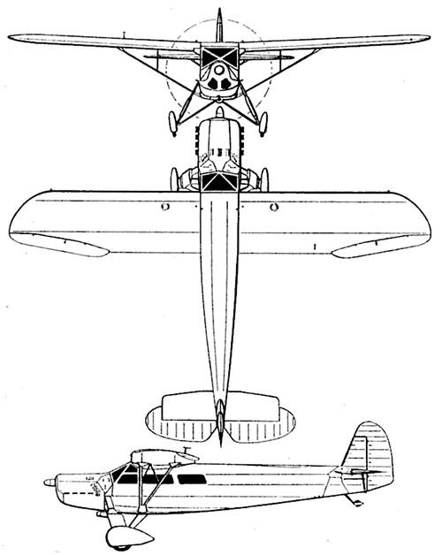 Focke-Wulf Fw 43 Falke