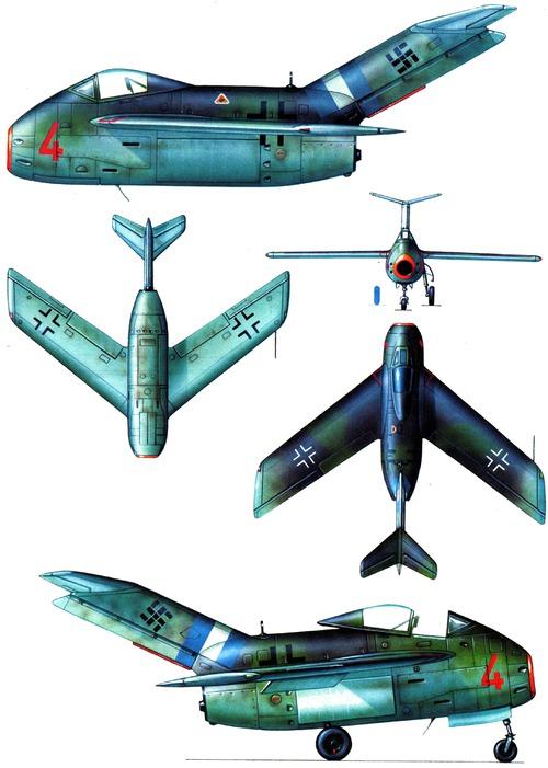 Focke-Wulf Ta 183 Huckebein