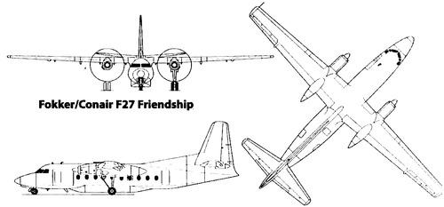 Fokker F.27 Frienship