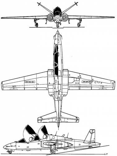 Fouga 90 Magister