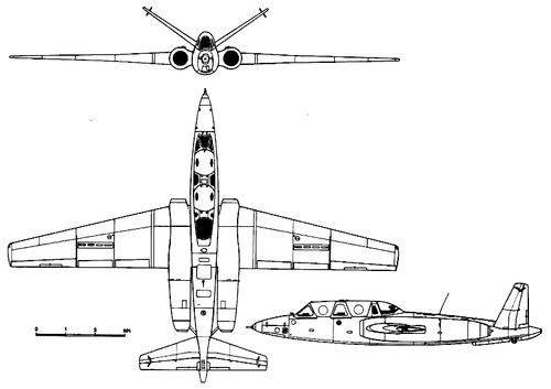Fouga CM.171 Makalu