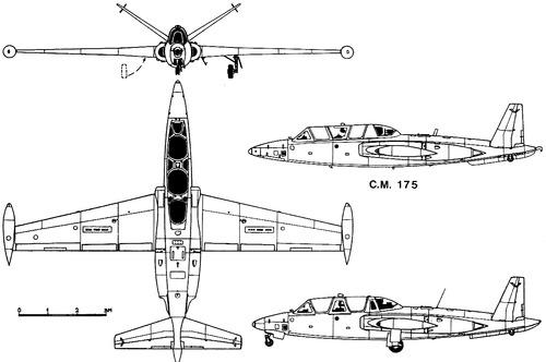 Fouga CM.175 Zephyr