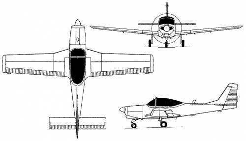 FWA AS 202 Bravo / AS 32T Turbo Trainer (Switzerland) (1969)
