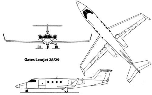 Gates Learjet 28-29