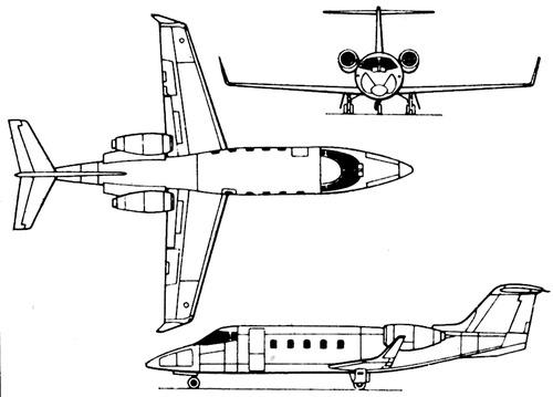 Gates Learjet 54 Longhorn
