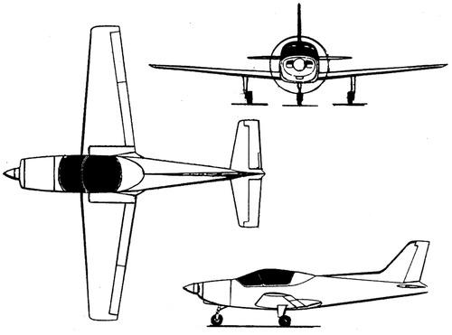 General Avia F 22 Pinguino