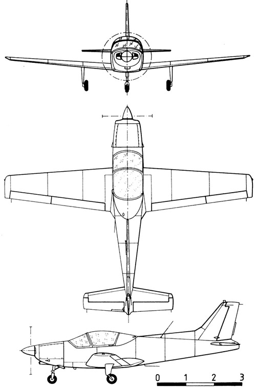 General Avia F 22 Pinguino