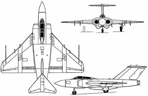 Gloster Javelin (England) (1951)