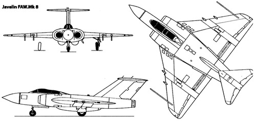 Gloster Javelin FAW.8