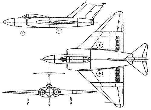 Gloster Javelin GA.5 (XD808)