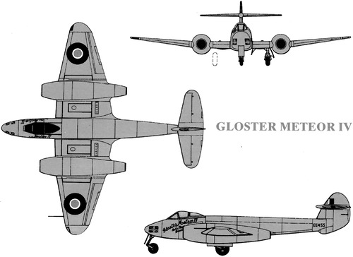 Gloster Meteor F Mk.IV