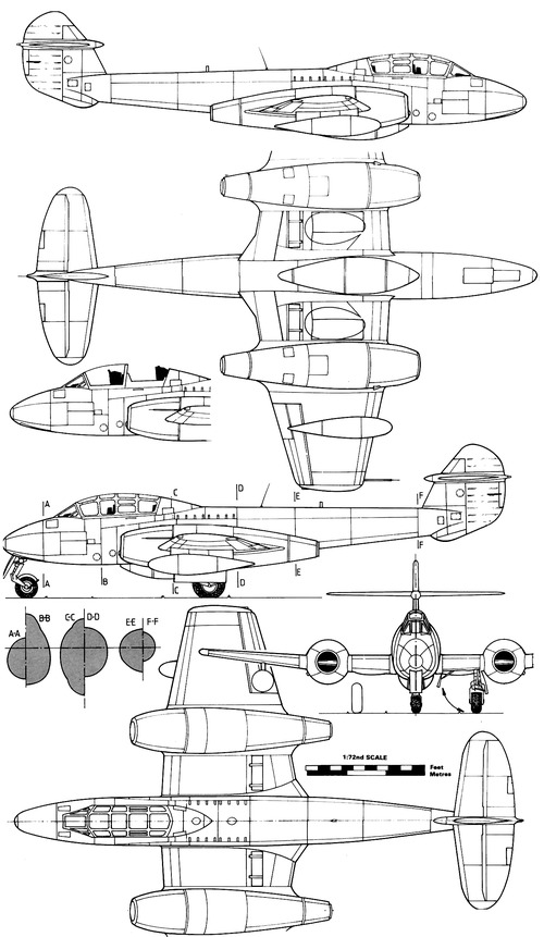 Gloster Meteor T Mk.7