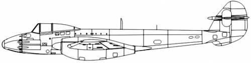 Gloster Meteor Trent