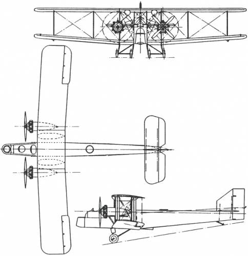 Handley Page H.P.33/36 Hinaidi (England) (1927)