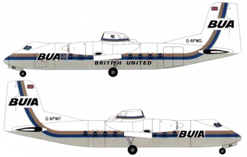 Handley Page Herald 200