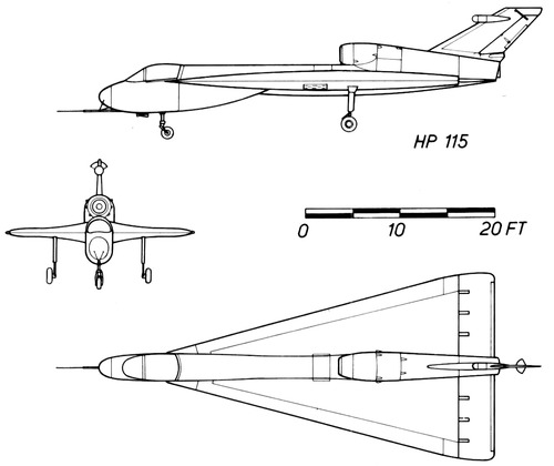 Handley-Page HP.115