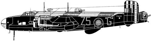 Handley-Page HP.56 Halifax B Mk.III