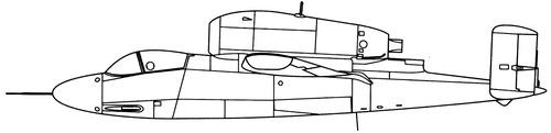 Heinkel He 162A-1 Volksjager