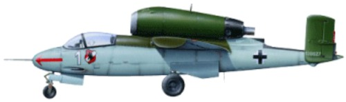 Heinkel He 162A-2 Salamander
